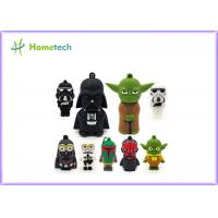 Cheap Star Wars Toys Customized Pen Drives 64gb , Cartoon Usb Flash Drive For Gift for sale
