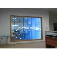 Cheap High Transparent LED Screens Lightweight Video Wall Display for sale