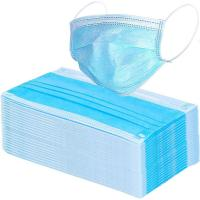 Cheap 17.5*9.5cm Compact 3 Ply Surgical Mask , Disposable Pollution Mask For Personal Safety for sale