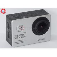 Cheap Multi Language WIFI Action Camera For Motorcycle , HD DV 1080p Sports Camera wholesale