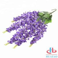 Cheap Indoor / Outdoor Artificial Green Plants Silk Hanging Wedding Decoration For Home And Restaurant for sale