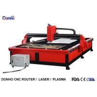 Cheap Red Color Plasma Metal Cutting Machine with 2000 mm x 3000 mm Working Size for sale