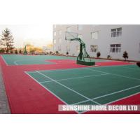 Cheap Indoor Interlocking Tennis Court Flooring Tile , Futsal Court Surface for sale