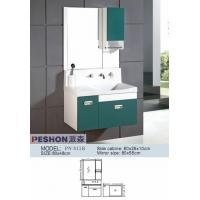 Cheap Cheap PVC/MDF/solid wood hanging/floating/wall-mounted bathroom vanity/bathroom cabinet for sale