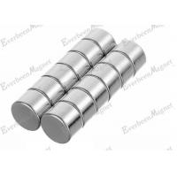 Cheap Strong Disc Permanent Neodymium Magnets Dia 27*5mm Thickness Nickel coating for sale