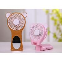 Cheap Souvenir Small Hand Held Fans Battery Operated , Rechargeable Battery Powered Fan for sale
