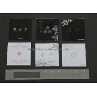 Cheap Silk Printed Glass Switch Panel (STG-056) for sale
