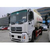 Cheap Dongfeng 4x2 Bulk Cement Truck 2 Axles 10-18CBM For Powder Material Transport for sale