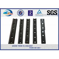 Cheap Customized Casting Steel Railway Fish Plate / Rail Joint Bars With BS ASTM Standard for sale