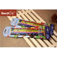 Buy cheap Custom Printed Shrink Film Pencil Personalized LOGO School 2B HB Lead Wooden from wholesalers