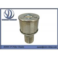 Cheap Filter Nozzle 1T Filtration Ability Stainless Steel 304 With 0.18mm Gaps for sale