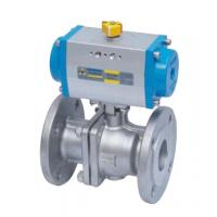 Cheap Double Acting Actutator Stainless Steel Flanged Ball Valve for sale