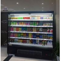 Cheap Self Service multideck refrigerated display cabinets Merchandiser Open Air Refrigerated Case for sale