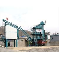 Cheap 32T Hot Aggregate Bin Timken Bearing Asphalt Drum Mixer Plant , Fixed Bitumen Processing Plant for sale