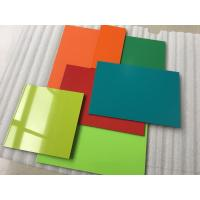 Cheap Weatherpoof Aluminium Composite Sheet / Aluminium Wall Sheets Easy To Maintain for sale
