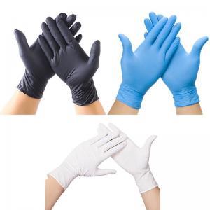 Cheap Spot Black Nitrile Gloves Disposable Powder-Free Latex PVC Vinyl Gloves for sale