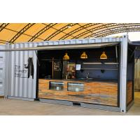 Cheap Beautiful Modular Shipping Containers Moveable For Camping , CSA Listed for sale