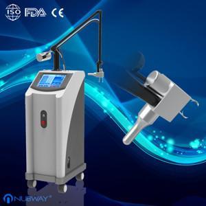 Cheap Face lift ; skin rejuvenation Fractional CO2 Laser for acne scars glass pipe supplier for sale