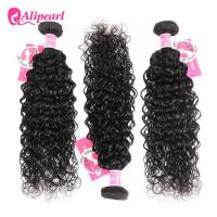 Cheap 8A Quality Virgin Brazilian Human Hair Bundles Water Wave No Oiled Gloosy for sale