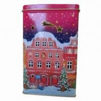Cheap Candle can for Christmas, made of 0.21mm tinplate for sale