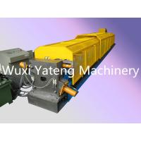 Buy cheap Mirror Polished Roller Material Gutter Roll Forming Machine For Water Pipe / Drin Pipe from wholesalers