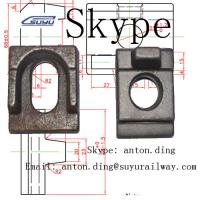 Buy cheap Rail clip /Rail clamp /clamp plate from wholesalers