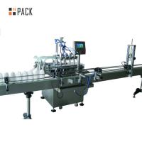 Cheap Corrosive Bleach Industrial Bottling Equipment Smooth And Stable Filling for sale