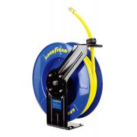 Cheap Goodyear Steel Spring Driven Low Pressure air water retractable hose reel 20m hose wholesale
