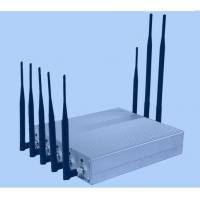 Cheap Desktop 8 Channel Mobile Jammer Device CDMA / GSM Signal Jammer for sale