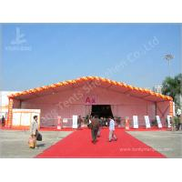 Cheap Professional White Commercial Commercial Marquee Hire 100 km / h Wind Load wholesale
