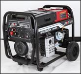 Cheap Reliable Engine Driven Welding Machine , WS*200A Portable Gasoline Generators for sale