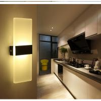 Cheap Square Acrylic LED wall lighting /inside led wall lamps for bedroom or sitting room for sale