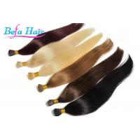 Cheap Women i Tip Hair Extensions 100 Virgin Human Hair Weave With Full Cuticles for sale