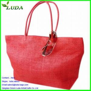 Cheap Reusable non woven straw shopping bag for sale