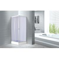 Cheap 4mm Smoke Glass Convenient Square Bathroom Glass Shower Enclosures Free Standing CE SGS Certification for sale
