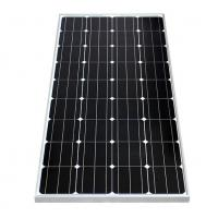 Cheap Silver / Black Frame Mono Crystal Solar Panel 150W With +/-3% Power Tolerance for sale