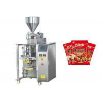 China Instant Noodles Oil Liquid Packaging Machine , Auto Edible Oil Packing Machine on sale