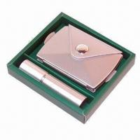 Cheap Cosmetic Case with Mirror and Atomizer for sale