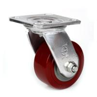 Cheap 5  heavy duty PU caster for sale