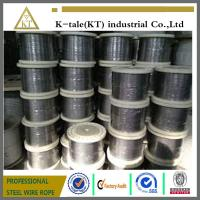 Cheap 0.65-0.8 Manufacturer of 7mm stainless steel wire rope 1x19 for sale