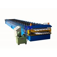 Wall Panel / Roofing Corrugated Sheet Roll Forming Machine 23 Forming Group