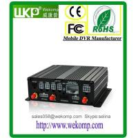 Cheap Wekomp H.264 4 Channel SD Card MDVR D1/HD1/CIF for sale