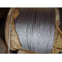 Cheap Standard Lifting Galvanized Steel Wire Ropes For Cable Car , 6 x 19 s + Fc for sale