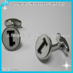 Cheap 2015 promotional gift blankcufflink/hot sell custom cufflink for sale