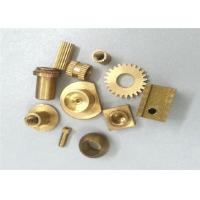 Quality Metal Gear Brass Machined Parts Stamping 0.01 Tolerance ISO Certification wholesale