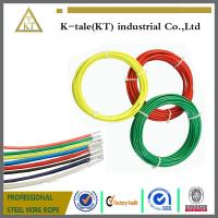 Cheap high tensile strength strand 0.9-2mm pvc coated galvanized steel wire rope for lifting for sale