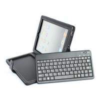 Cheap Wireless ABS bluetooth keyboard for ipad 2 with samsung galaxy tab pu leather case for sale