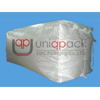 White Bulk Containers Liner Bag PP Woven Fabric for 20 ft / 40 ft / 40HQ