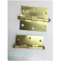 Cheap High End Ball Tip Cabinet Hinges Precise Cut Residential High Security Round Type for sale
