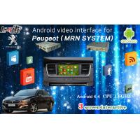 multilanguage igo map android auto interface with rear camera work for peugeot 2008 208 508 408. Black Bedroom Furniture Sets. Home Design Ideas